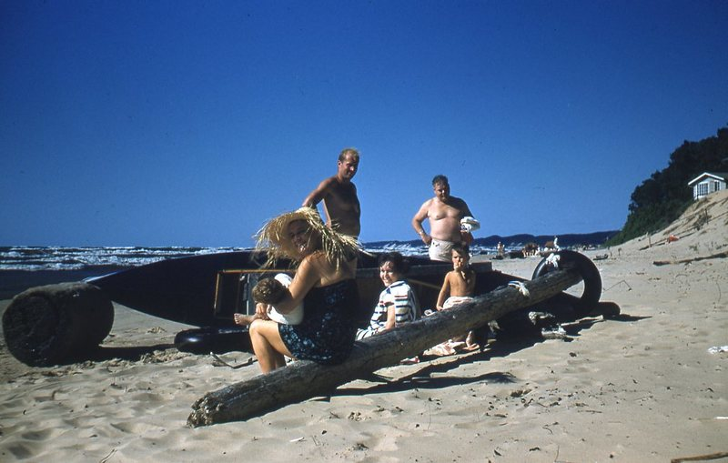 Go to Group of six surrounding a kayak item page