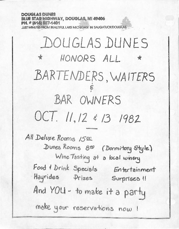 Go to Douglas Dunes Flier item page
