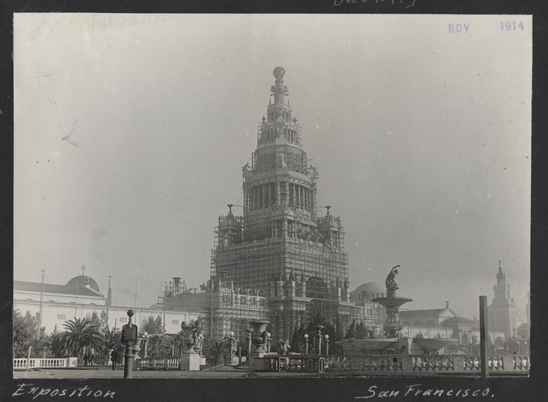 Go to California. San Francisco Exposition item page