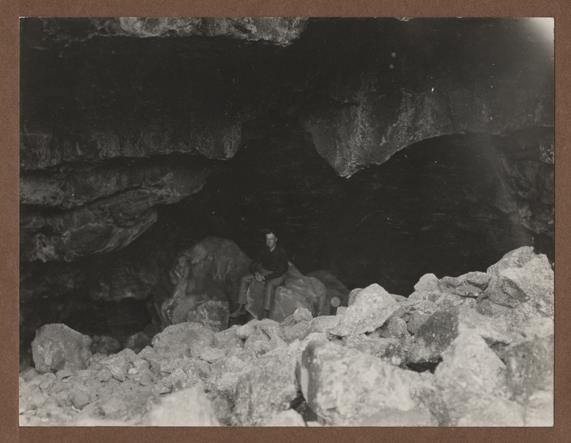 Go to Idaho. Interior of a cave at Craters of the Moon item page