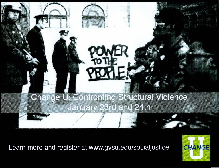 Go to Change U: Confronting Structural Violence Poster item page