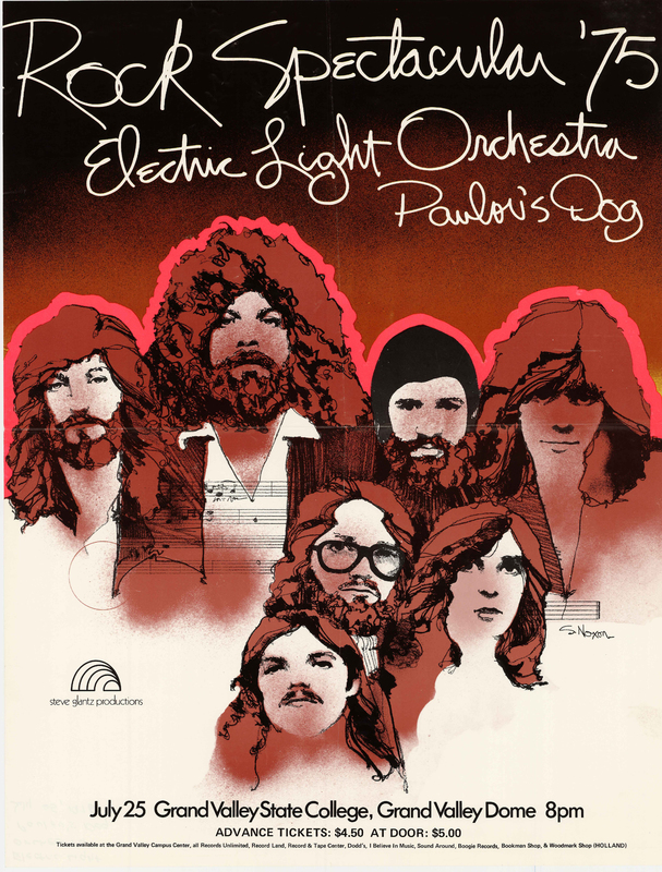 Go to Electric Light Orchestra and Pavlov's Dog, July 25, 1975  item page