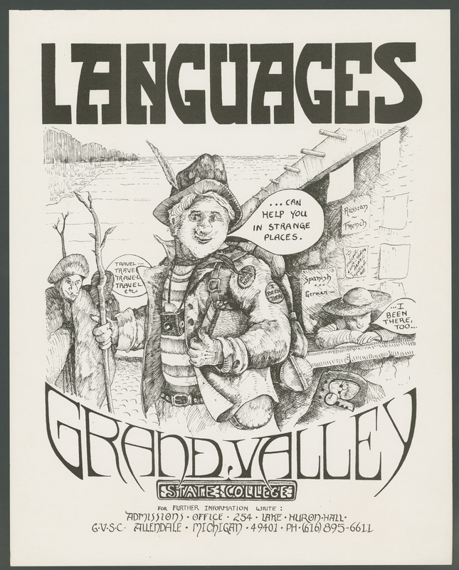 Go to Admissions poster for Grand Valley State College languages program item page