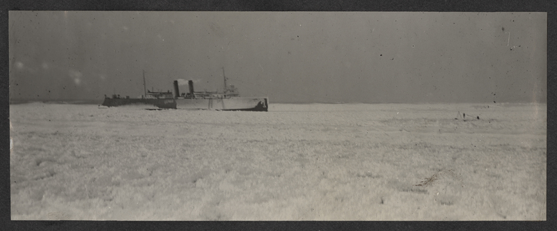 Go to Michigan. Pere Marquette car ferry in ice jam item page