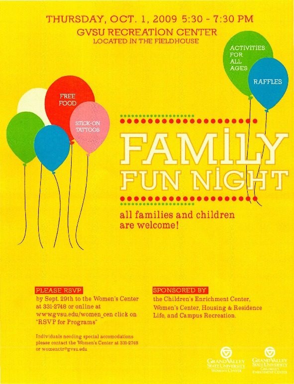 Go to Family Fun Night item page