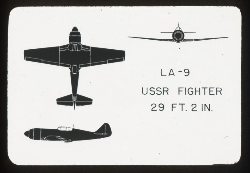 Go to LA-9 Russian fighter item page
