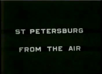 Florida. Florida. St. Petersburg from Goodyear blimp, 1932