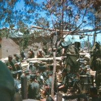 Go to 1st Marine Division band keeping the men occupied around April 27th just south of Hue item page