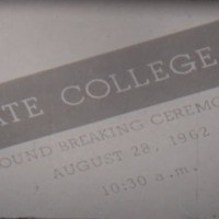 College Groundbreaking Ceremony, 1962