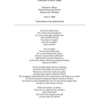 Go to Pastoral Prayer 1996 item page