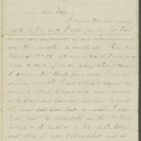 Go to John Bennitt to his wife [Letter 159] item page
