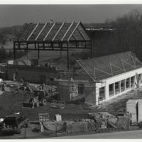 Cook-DeWitt Center. Building construction