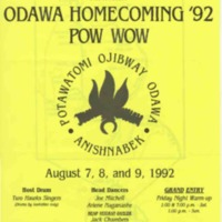 Go to Odawa Homecoming Pow wow, August 1992 item page