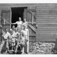 Cotton family, circa 1950