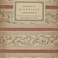 Go to Bildnisse: 24 farbige Handzeichnungen item page
