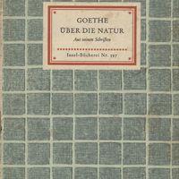Go to Über die Natur: aus seinen Schriften item page