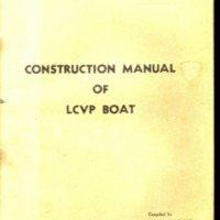 Go to Construction manual for Landing Craft Vehicle/Personnel (LCVP)