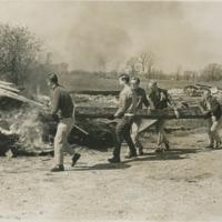 Go to Volunteers burning debris item page