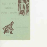 Annual All State Indian Pow-Wow, July 1963