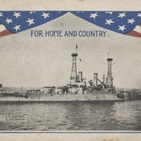 "Go to U.S.S. Michigan, ""For Home and Country"" item page"