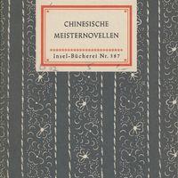 Go to Chinesische Meisternovellen item page