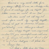 "Go to Letter to Edward ""Ned"" Manley by Jean Worthington, May 25, 1945. item page"