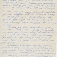 "Go to Letter to Edward ""Ned"" Manley by Jean Worthington, May 23, 1945. item page"