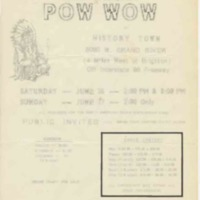 All Indian Pow wow, June 1958