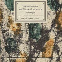 Go to Der Passionsaltar des Meisters Loedewich in der St. Nikolaikirche zu Kalkar item page