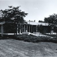 Seidman House. Exterior view of the northwest corner