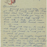 "Go to Letter to Edward ""Ned"" Manley by Jean Worthington, May 18, 1945. item page"