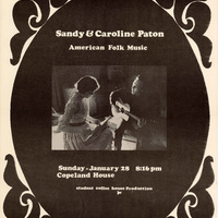 Go to Sandy and Caroline Paton, January 28, 1972 item page