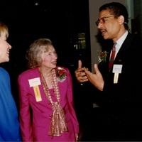 Go to Michigan Nonprofit Association Michele Engler, Leonore Romney, Elson Floyd, President Western MI University item page
