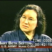 Go to Sefton, Mary B. (Interview transcript and video), 2005 item page