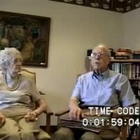Go to Vande Kerk, Christine and Henry (Interview outline and video), 2008 item page