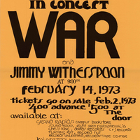 Go to War and Jimmy Witherspoon, February 14, 1973 item page