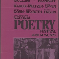 Go to National Poetry Festival, 1973 item page