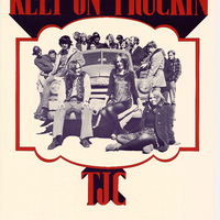 Go to Grand Valley's Thomas Jefferson College's Keep on Truckin' student recruitment poster item page