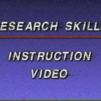 Go to Library Research Skills, 1993 item page