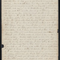 Go to Letters from John Q. Adams, 60th Illinois Infantry, to his wife Kate item page