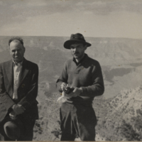Go to Arizona. Annis and F.C. Angus at the Grand Canyon item page