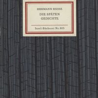 Go to Die späten Gedichte item page