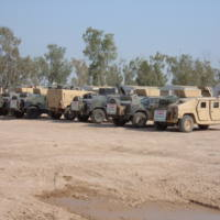 Go to Armored HUMVEE gun truck escorts from the convoy item page