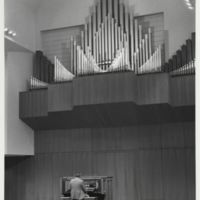 Cook-DeWitt Center. Reuter pipe organ
