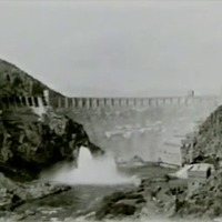 Arizona. Roosevelt Dam, 1932