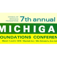 Go to Council of Michigan Foundations 1979 annual conference preliminary program item page