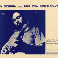 Roy Buchanan and Papa John Creach, April 25, 1976