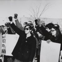 Go to  Anti-Vietnam War demonstrators item page