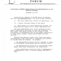 Go to Michigan Nonprofit Forum 1990-09-26 steering committee Statement of Principles item page