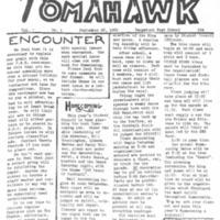 Tomahawk, Vol. 1 No. 1